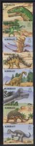 Kiribati 894-901 Dinosaurs Mint NH