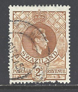 Swaziland Sc # 30 used (RS)