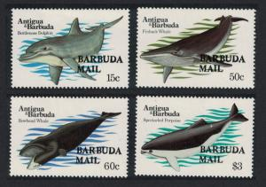 Barbuda Whales 4v SG#667-670