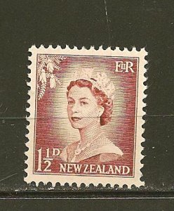 New Zealand 290 Queen Elizabeth II MNH