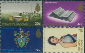 Pitcairn Islands 1969 SG105-106b Scene Bible Arms QEII MNH