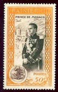 Monaco; 1950; Sc. # 248; **/MNH Single Stamp