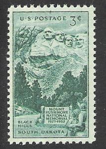US Cat # 1011, Mt. Rushmore, MNH*-