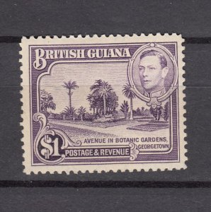 J26605 JLstamps 1938-52 Br guiana mh #239 perf 12 1/2 king