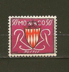 Monaco 312 Grimaldi Arms MNH