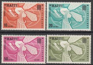 Haiti #505-6, C208-9 MNH VF (V2037)