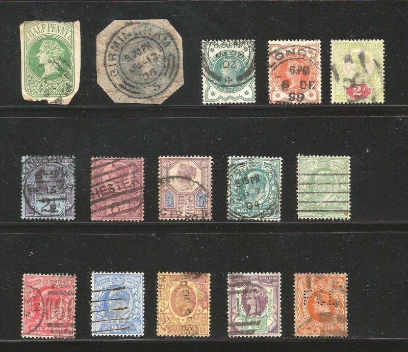 Great Britain Vitoria K. George Great Lot