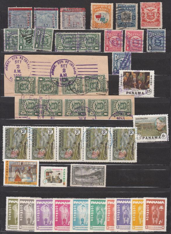 Panama - small stamp collection