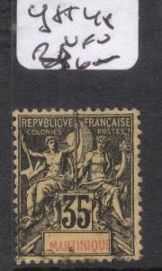 French Martinique Y&T 48 VFU (2dmw)