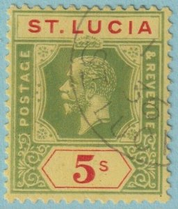 ST LUCIA 89 USED NO FAULTS EXTRA FINE