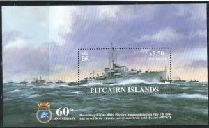 Pitcairn Islands #599 $5.50 HMS Pitcairn S/S (MNH) CV$15.00