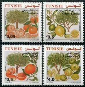HERRICKSTAMP NEW ISSUES TUNISIA Citrus Fruits