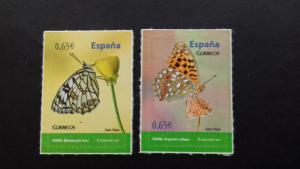 Spain 2011 Butterflies - Self Adhesive