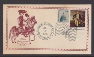 US FDC OF GEORGE WASHINGTON  1986  LOT#453