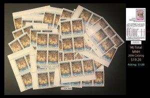 Nicaragua Dealer's Lot ~ Sct. 957 ~ 96 tot  ~ CLR90555