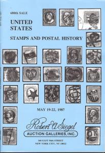 Siegel: Sale # 680  -  United States Stamps and Postal Hi...