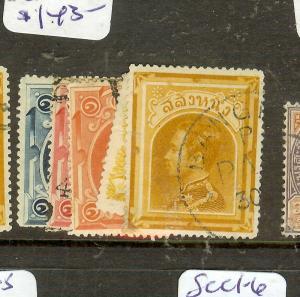 THAILAND (P1502B)  KING SC1-4, 5A   VFU