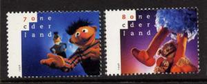 Netherlands 941-2 MNH Sesame Street