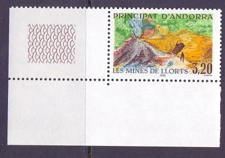 Andorra French 1990 MNH iron ore mines    complete