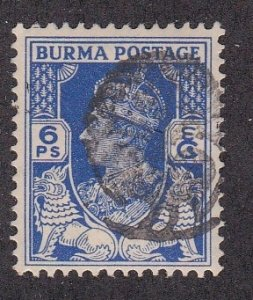 Burma # 1N38, Japanese Occupation, Hinged, 1/3 Cat.