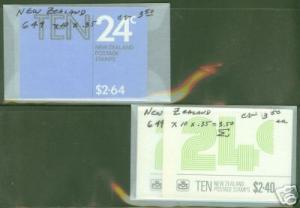 New Zealand Stamp Booklet Scott 649a CV$3.50