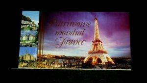 U.N. 2006, GENEVA #461, WORLD HERITAGE, FRANCE, MNH, PRESTIGE BOOKLET, LQQK