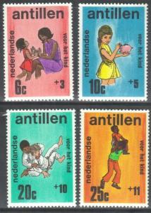 NETHERLANDS ANTILLES SC# B101-104  **MH**  1970  MASS MEDIA SEE SCAN