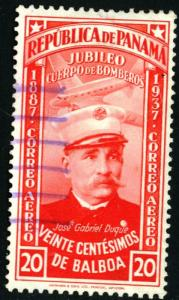 PANAMA #C42, USED AIRMAIL, 1937 - PAN397