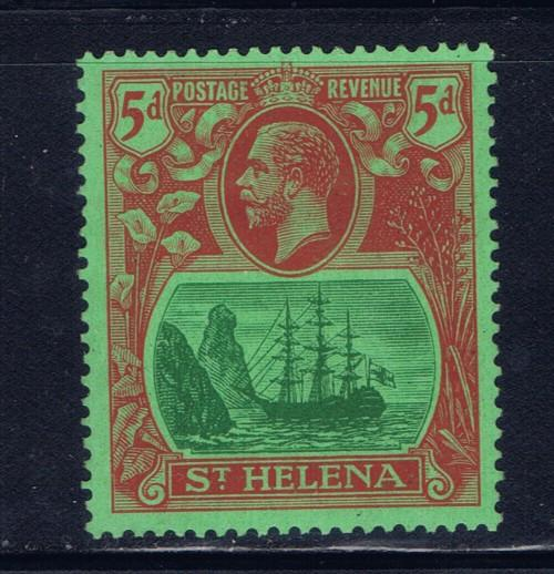 St Helena 84 Lightly Hinged 1927 issue Beautiful stamp