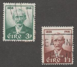Ireland stamp, scott# 165-166, set of two,   #M999