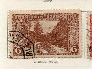 Bosnia Herzegovina 1906 Early Issue Fine Used 6h. NW-113570