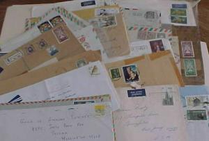 IRELAND  35 COVERS AFTER 1948 MOSTLY TO USA  INCLUDES 2 REGISTERED
