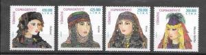 TURKEY - TURKISH WOMAN HEAD COVERS, MNH , 2001
