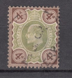 J27544 1902-11 great britain used #133 king