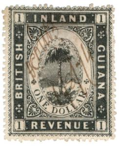 (I.B) British Guiana Revenue : Inland Revenue $1