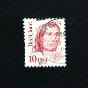 USA #2175  14 used 1986-94 PD .08