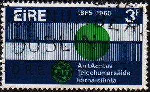 Ireland. 1965 3d S.G.205 Fine Used