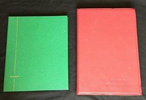 Black and White Page Stockbooks (5 Items)6.8kg (KM21