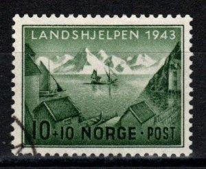 Norway #B32 F-VF Used  CV $5.00 (Z9768)