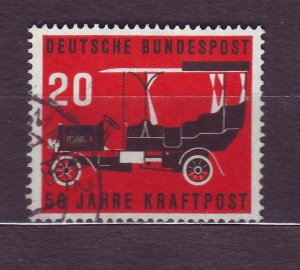 J23186 JLstamps 1955 germany set of 1 used #728 car auto