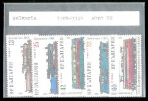 BULGARIA Sc#3309-3314 Complete MINT NEVER HINGED Set