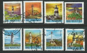 China  Scott 2811-2823  Used  short set  lighthouses