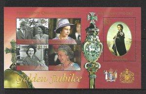 Tokleau MNH S/S 33 Golden Jubilee Queen Elizabeth II 2002