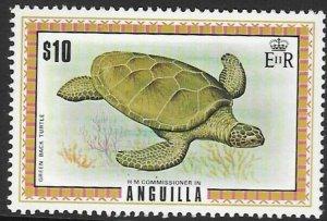 ANGUILLA SG144a 1975  $10 DEFINITIVE  MNH