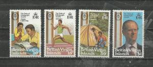 British Virgin Islands # 409-412