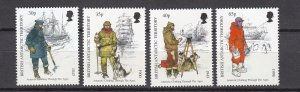 J26595  jlstamps 1998 Br antartic terr bat set mnh #259-62 artic clothing