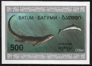 Batum MNH S/Sheet - Otter - Marine Life