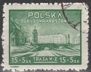 Poland #B58 F-VF Used  (V1356)