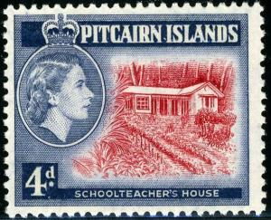 HERRICKSTAMP PITCAIRN ISLANDS Sc.# 31 School Teacher