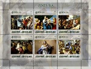 Guinea-Bissau 2005 PRADO MUSEUM PAINTINGS Sheet Perforated Mint (NH)